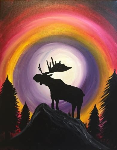 paint nite calgary pictures may 29th shark club deerfoot paint nite event