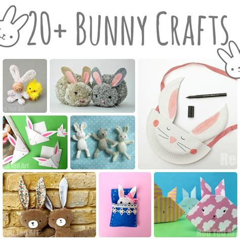 crafts to make with 20 bunny crafts for ted s