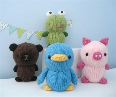 knitting patterns of animals you to see knit animal friends pattern set on craftsy