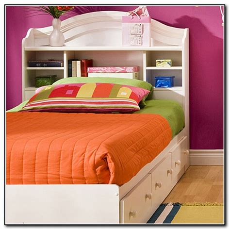 captains bed with bookcase headboard king storage bed with bookcase headboard beds home