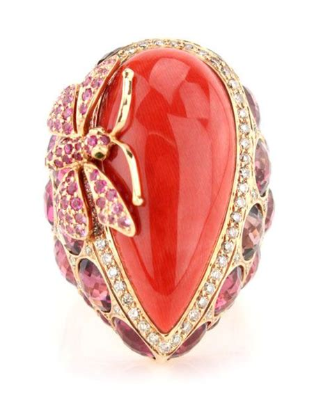 coral for jewelry best 25 coral ring ideas on jewelry