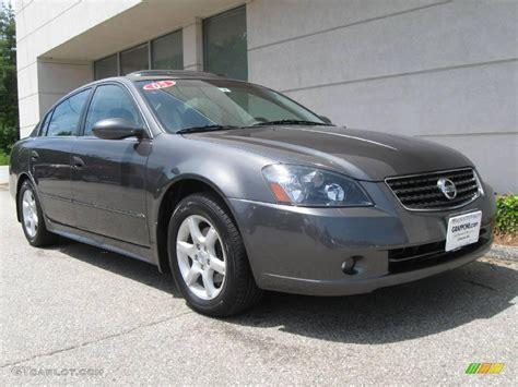 2005 Nissan Altima Sl by 2005 Smoke Metallic Nissan Altima 3 5 Sl 9835329