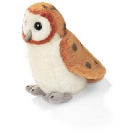 bird stuffed animals barn owl audubon stuffed animal with bird song stuffed