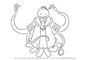 to draw learn how to draw koro sensei from assassination classroom