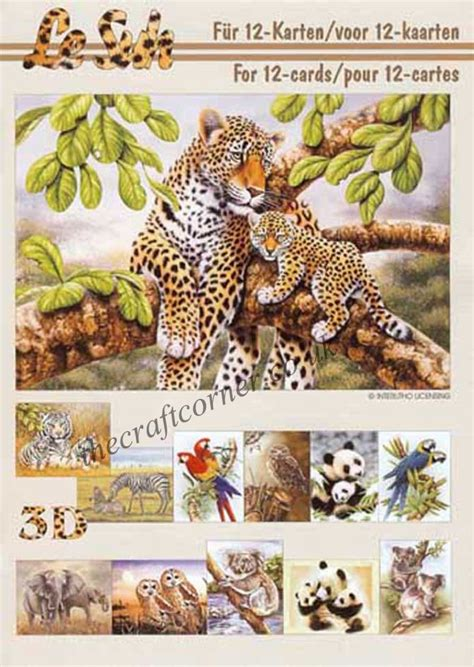 die cut decoupage books animals a5 3d decoupage book from le suh