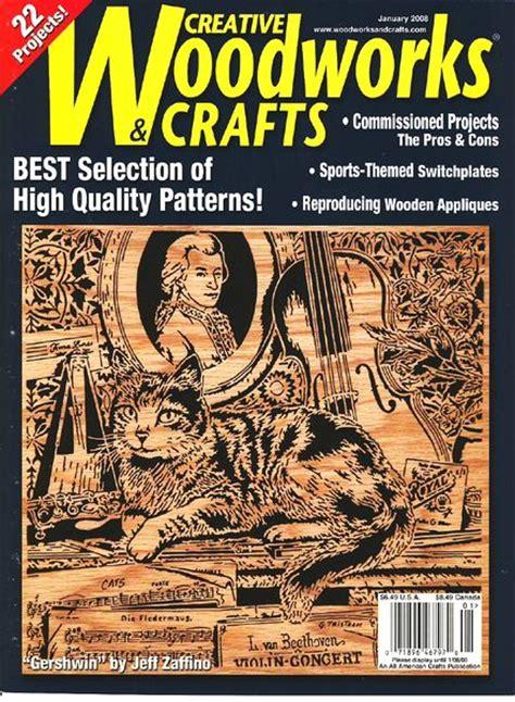 creative woodworks creative woodworks crafts januar 2008 pdf