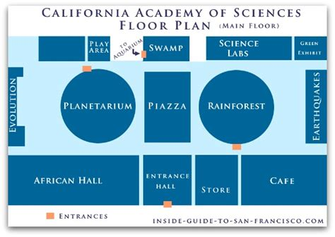 california academy of sciences floor plan the california academy of sciences a local s tips