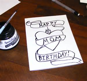 card stuff how to draw birthday things
