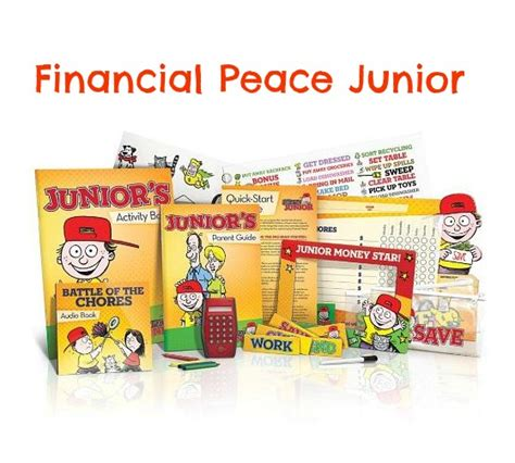 financial peace junior kit teaching how to win with money financial peace junior set 14 39 reg 24 95 free