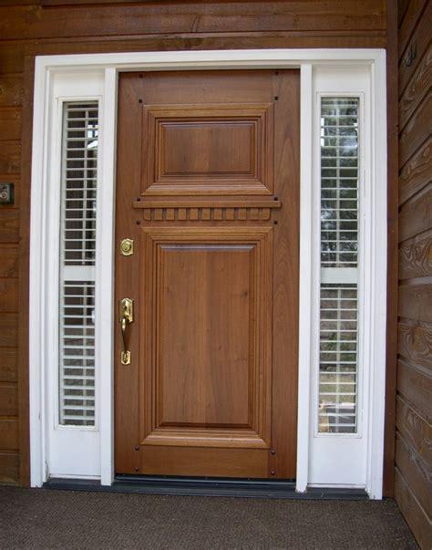 exterior door types best type of exterior door best type of wood for a front
