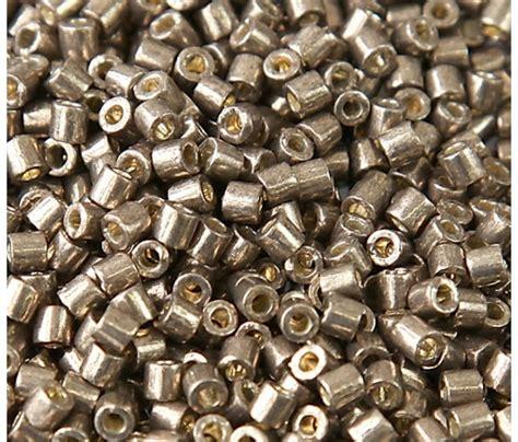 miyuki duracoat galvanized seed 8 0 miyuki delica seed duracoat galvanized pewter