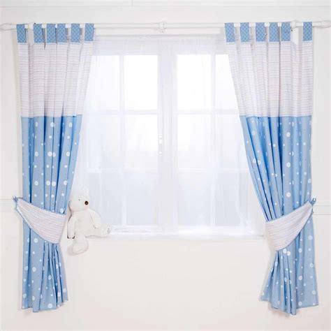 baby nursery curtains 4 types of blue nursery curtains