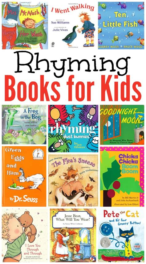 best rhyming picture books rhyming books for our favorites