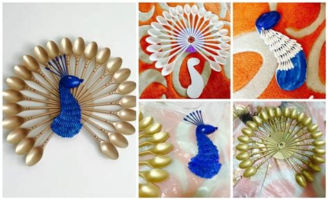 wall hanging paper craft how to make peacock wall hanging easy craft ideas