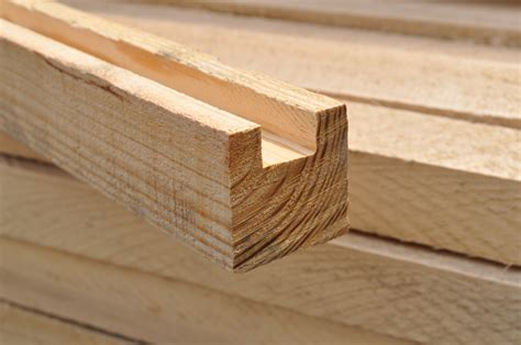 woodworking groove dunnage lumber with banding groove boone valley forest