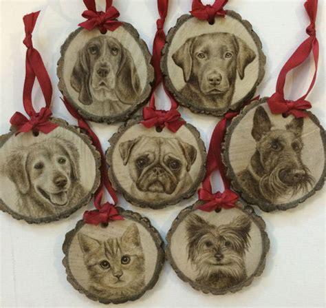 pet ornaments wood burned pet ornaments on ccs portfolios