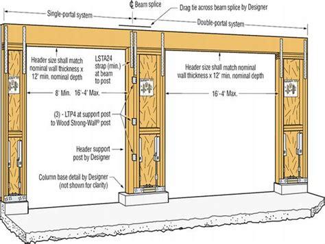 garage door size best 25 standard garage door sizes ideas on