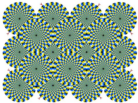 Painted River: Optical Illusions