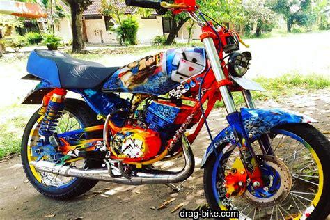 Cat Motor Modifikasi by 60 Foto Gambar Modifikasi Rx King Modif Keren Air Brush