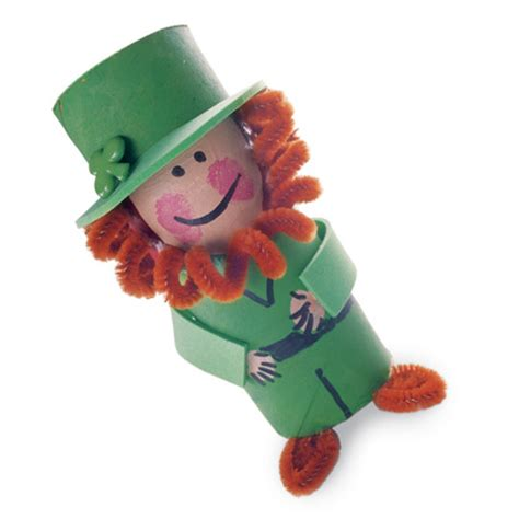 leprechaun toilet paper roll craft sassy st s day crafts for