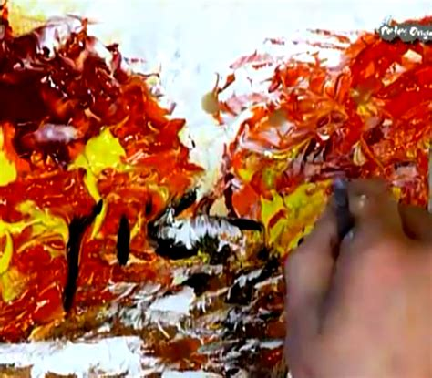 Abstract Modern Painting Techniques By Dranitsin