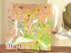 martha stewart decoupage decoupage map tray crafts how to s and ideas