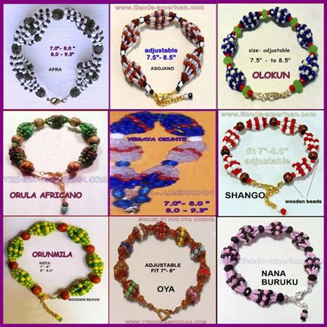 santeria and their meanings santeria bracelets meaning jewelry