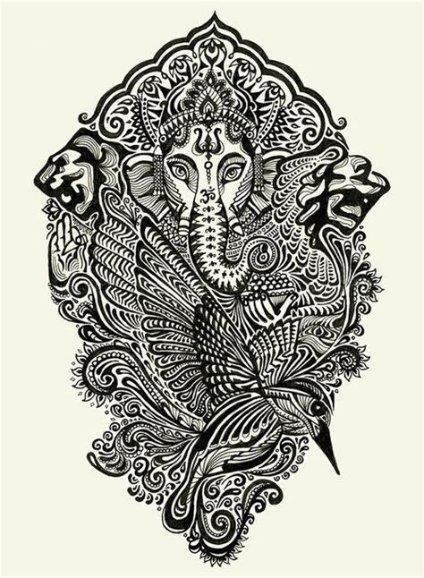147 best ganesh tattoo images on pinterest ganesh tattoo