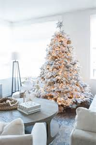 trees with lights and decorations 33 chic white tree decor ideas digsdigs