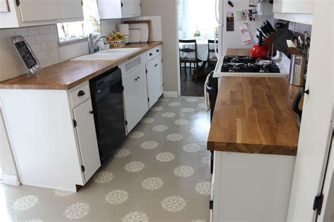 painted kitchen floors a warm conversation work with what you got painted