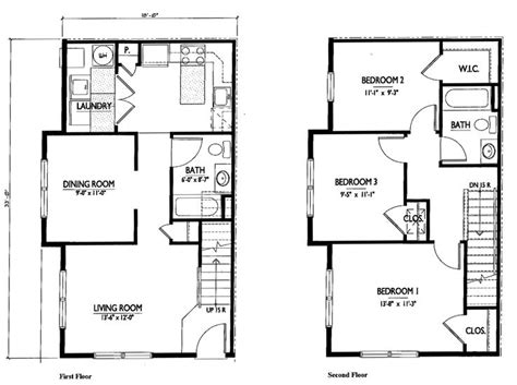 3 bedroom 2 story house plans small 2 story 3 bedroom house plans home deco plans