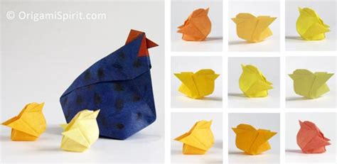 origami hen origami chicken for easter it s an and it s an