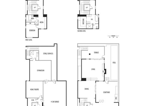 waterfront floor plans ranch house plans waterfront waterfront homes house plans