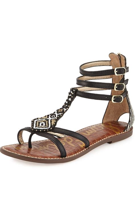 beaded gladiator sandals sam edelman beaded gladiator sandal from south carolina by