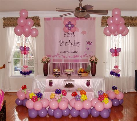 ideas at home various choice birthday decoration for the best birthday