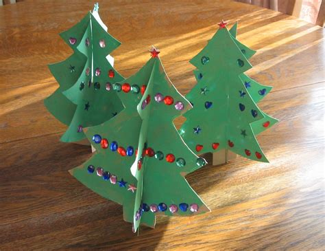 tree craft for almost unschoolers simple craft 3d cardboard