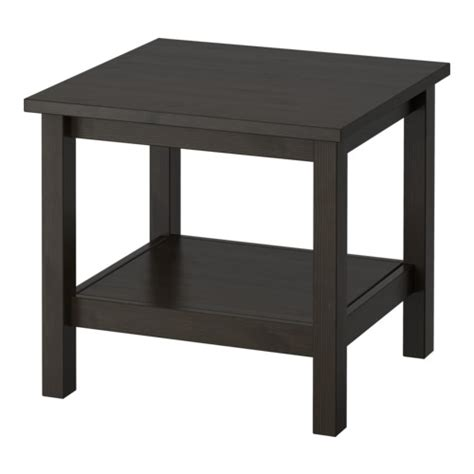 ikea side tables hemnes side table black brown ikea