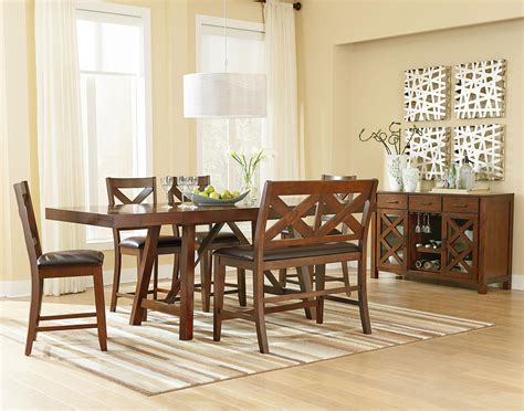 casual dining room furniture omaha brown casual dining room by standard furniture wolf furniture