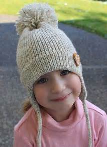 knit hat with ear flaps free patterns ear flap hat free pattern knitting and crochet