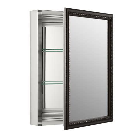 mirrored bathroom medicine cabinets medicine cabinets wayfair 20 x 26 wall mount mirrored