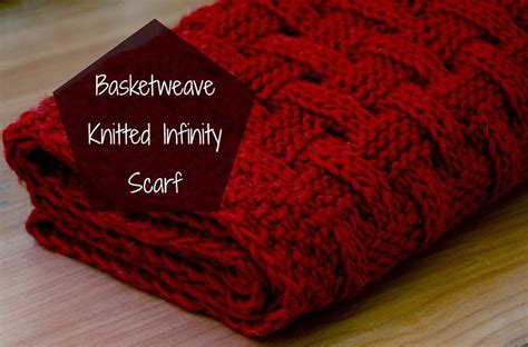 how to basket weave knit basketweave knitted infinity scarf things we do