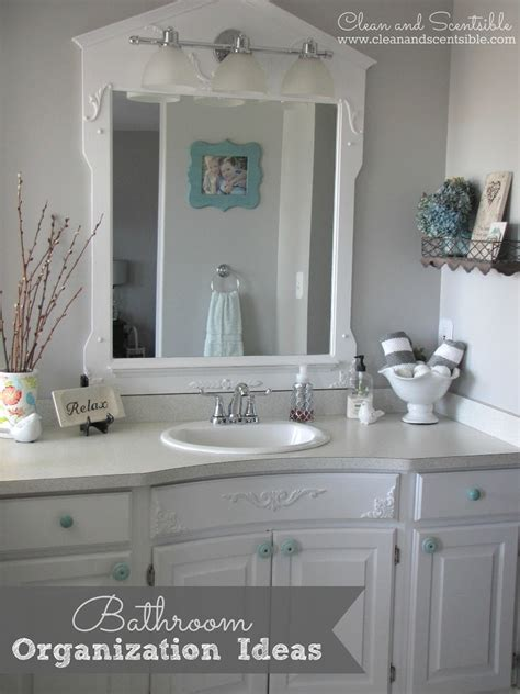 bathroom sink organization ideas bathroom organization ideas clean and scentsible