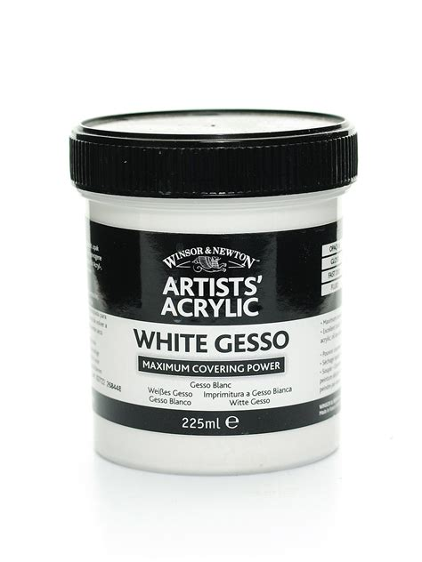 acrylic painting gesso winsor newton artists acrylic gesso misterart