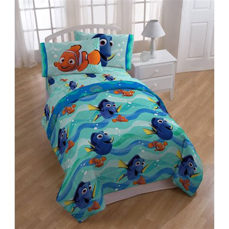 finding nemo comforter set disney finding dory nemo pin baby bed in a bag 5