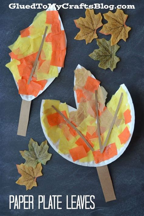 fall paper plate crafts 25 best ideas about leaf crafts on fall diy