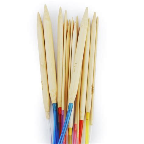 bamboo circular knitting needles 18 sizes circular bamboo knitting needles set with colored