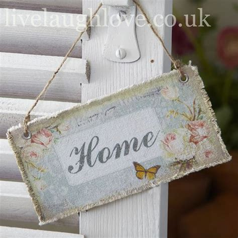 decoupage signs fabric plaque home decoupage 2 shabby chic