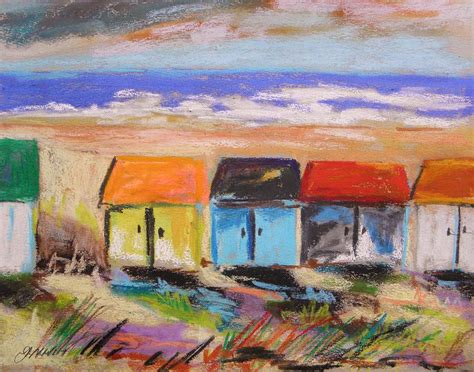 colorfu houses painting colorful houses painting by williams