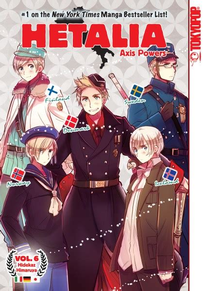 hetalia volume 6 trsi and tokyopop to release hetalia volume 6