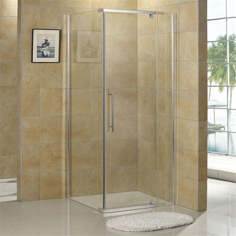 bathroom shower enclosure 36 quot x 36 quot miranda reversible corner shower enclosure
